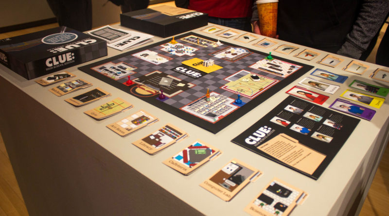 Seniors show off apps and art in final gallery