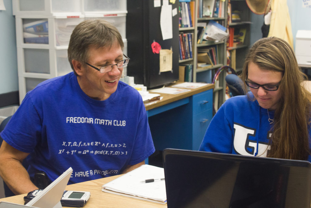 Mathematics professor recognized in Hall of Fame - The Leader